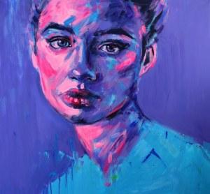 Joanna Jamielucha, Portret we fiolecie