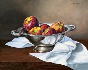 Wojciech Piekarski, Martwa natura z jabłkami