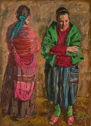 Sławomir J. Siciński, Dwie dziewczyny