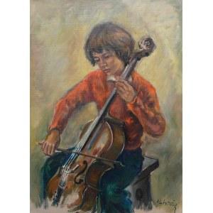 Katarzyna Librowicz (1912 Warszawa - 1991 Paryż), Chłopiec z wiolonczelą