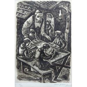Chaim Goldberg (1917 Kazimierz Dolny - 2004 Boca Raton), Nauka w chederze