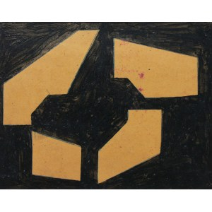 Józef Jarema (1900 Stary Sambor - 1974 Monachium), Kompozycja II, 1955 r.