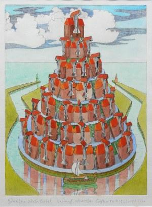 Czesław Tumielewicz (ur. 1942 Lida), Gdańska Wieża Babel, 2020 r.