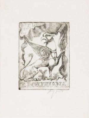 Ryszard Stryjec (1932 Lipniszki k. Lidy-1997 Gdańsk), Exlibris T. Bolduana