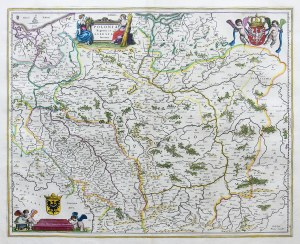 Joan Blaeu (1596-1673), Polonia Regnum, et Silesia Ducatus…