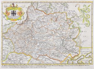 Richard Blome (1635-1705), A mapp of the estates of the Crowne of Poland…