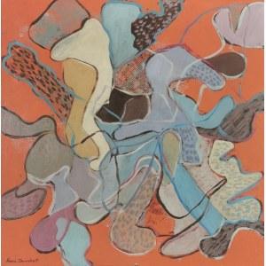 Maria DAWSKA (1909-1993), Kompozycja organiczna, 1971