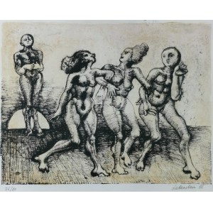 Jan LEBENSTEIN (1930-1999), Pani domu, z teki: Carnet Incomplet, 1966