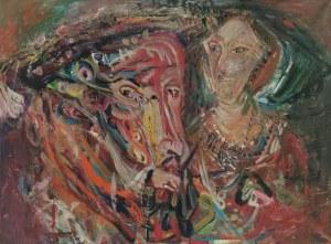 Janusz ANTOSZCZYK (ur. 1958), Henryk VIII Tudor i Katarzyna Paar, 2018
