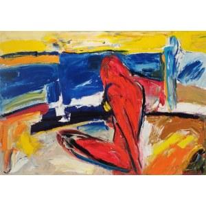Jadwiga ŻOŁYNIAK (ur. 1949), Plaża, 2020