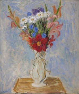 Maurice BLOND (1899-1974), Kwiaty w wazonie