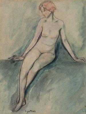 Leopold GOTTLIEB (1879-1934), Akt kobiety