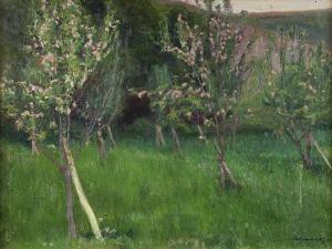 Stanisław KAMOCKI (1875-1944), Kwitnący sad, ok. 1907