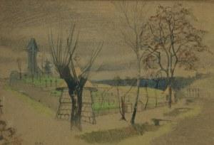 Alfons KARPIŃSKI (1875-1961), Pejzaż