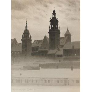 Stanisław Ignacy Poraj FABIJAŃSKI (1865-1947), Wawel nocą, 1921