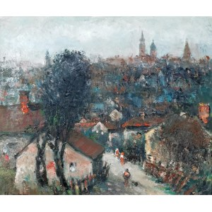 Włodzimierz DMYTRYSZYN (1905-1992), Motyw z Krakowa