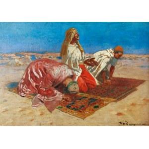 Feliks Michał WYGRZYWALSKI (1875-1944), Modlitwa Arabów