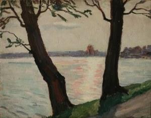 Emil KRCHA (1894-1972), Widok na rzekę