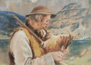 Stanisław GÓRSKI (1887-1955), Góral z gajdą