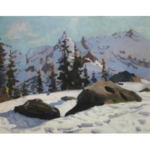 Stanisław GAŁEK (1876-1961), Tatry w śniegu
