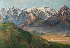 Leonard WINTEROWSKI (1868-1927), Pejzaż górski, 1917