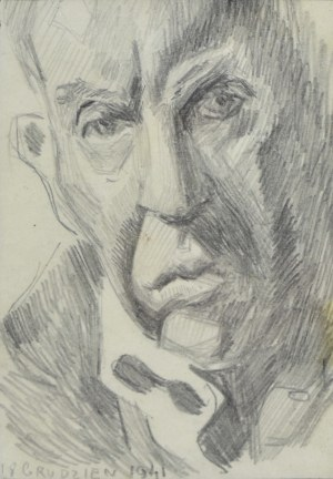 Stanisław KAMOCKI (1875-1944), Autoportret, 1941