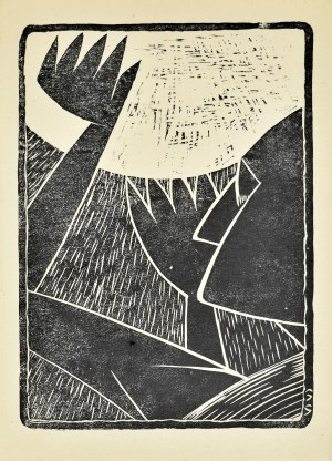 Stefan SZMAJ (1893-1970), Modlitwa do słońca, ok. 1920