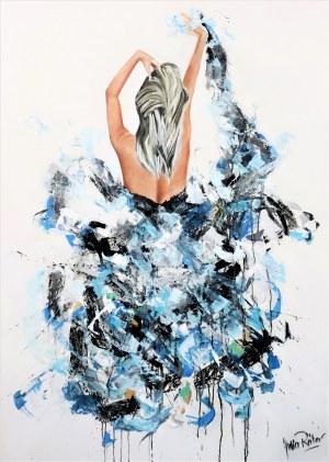 Julia Reiter, Turquoise swing, 2021