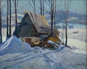 Michał STAŃKO (1901-1969), Pejzaż tatrzański zimą
