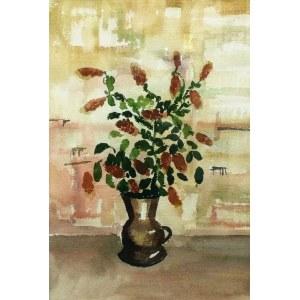 Rafał MALCZEWSKI (1892-1965), Kwiaty w dzbanie , ok. 1960