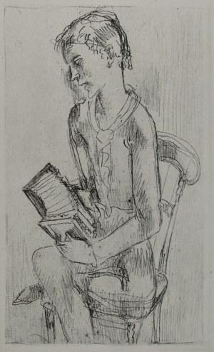 Eugeniusz ZAK (1884-1926), Chłopiec z harmonią