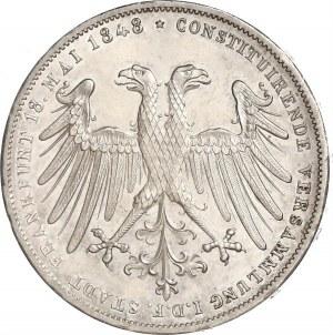 Frankfurt, Doppelgulden 1848