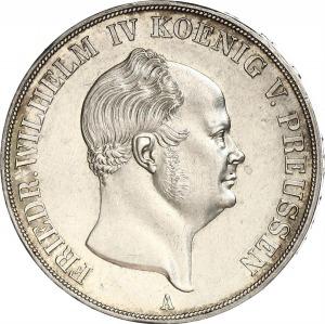 Brandenburg-Preußen, Friedrich Wilhelm IV, Doppeltaler 1855