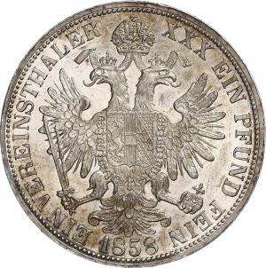 Franz Joseph I, Taler 1858 A