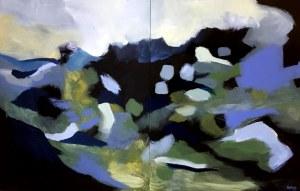 Emilia Nesteruk, Dolina Pięciu Stawów (dyptyk), 2020