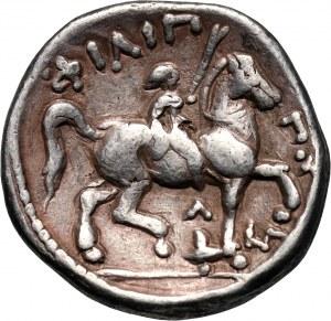 Greece, Macedonia, Philip II 359-336 BC, Tetradrachm, Amphipolis
