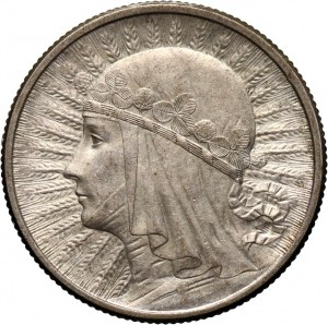 II RP, 2 złote 1932, Warszawa, Głowa kobiety