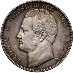 Germany, Hessen, Ludwig II, 2 Thaler 1844, Darmstadt