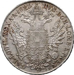 Austria, Franz I, Thaler 1821 A, Vienna