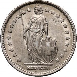 Switzerland, 1 Franc 1876 B