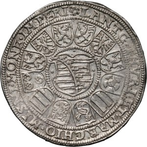 Germany, Saxony-Coburg-Eisenach, Johann Casimir and Johann Ernst, Thaler 1594, Saalfeld