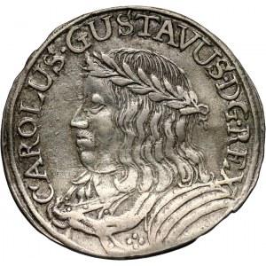 Karol X Gustaw, okupacja szwedzka, ort bez daty (1656), Toruń
