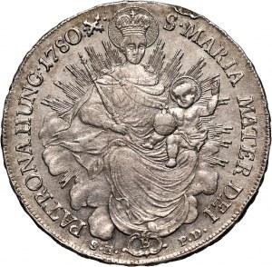 Węgry, Maria Teresa, talar 1780 B/SK-PD, Kremnica