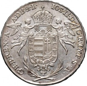Węgry, Józef II, talar 1786 B, Kremnica