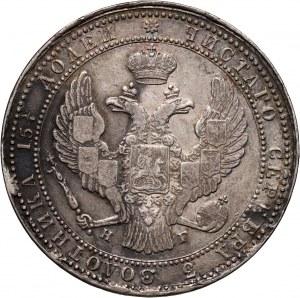 Zabór rosyjski, Mikołaj I, 3/4 rubla = 5 złotych 1837 НГ, Petersburg