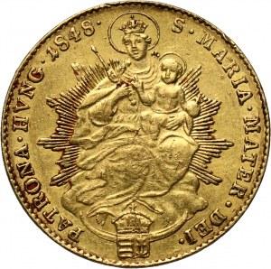 Węgry, Ferdynand I, dukat 1848, Kremnica