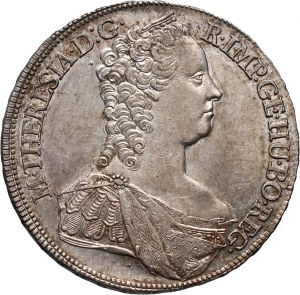 Austria, Maria Teresa, talar 1764 G, Günzburg