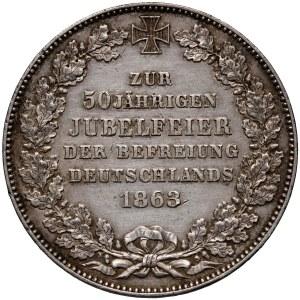 Niemcy, Brema, talar 1863, 50. rocznica wyzwolenia Niemiec z francuskiej okupacji