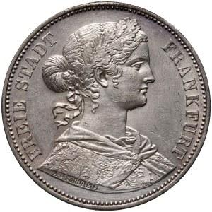 Germany, Frankfurt, Thaler 1865