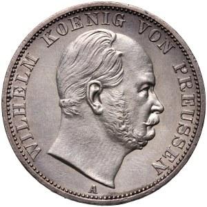 Germany, Prussia, Wilhelm I, Thaler 1867 A, Berlin